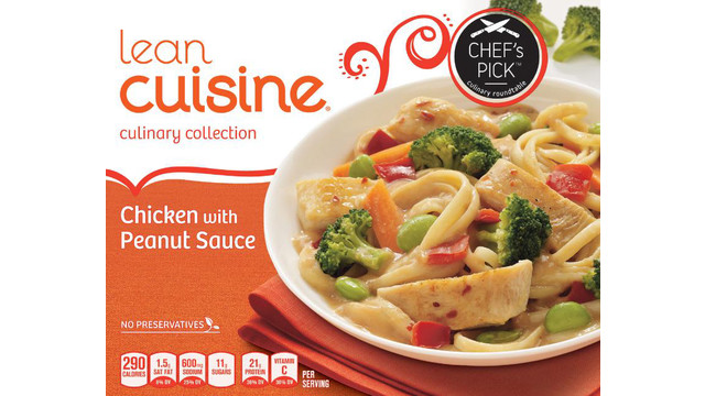 Nestle Prepared Foods Company Announces Allergy Alert And Voluntary Recall Of LEAN CUISINE® Culinary Collection Chicken With Peanut Sauce