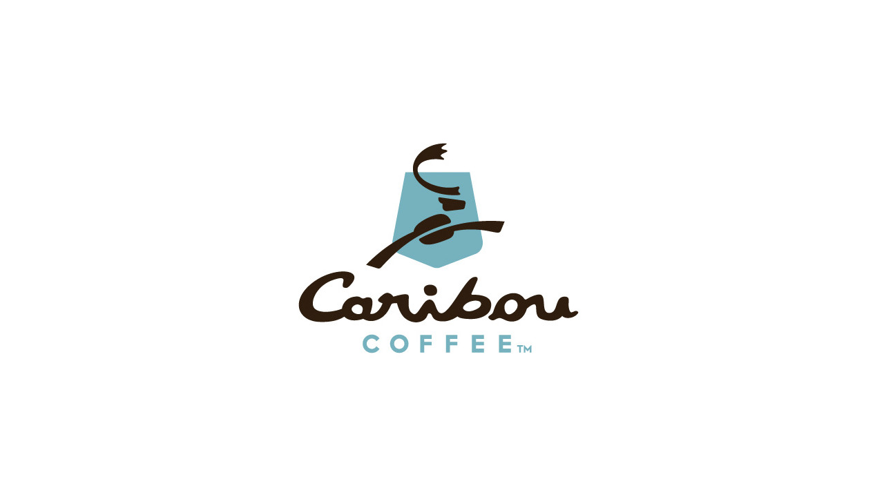 caribou coffee logo vector