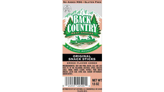 DJ Kitchen Back Country Original Snack Sticks