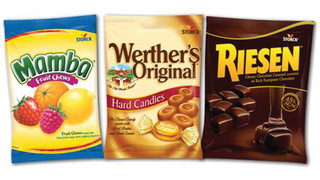 Storck USA Werther's Original®, RIESEN®, and Mamba® Vend Bags
