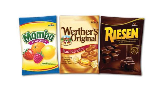 Storck USA Werther's Original®, RIESEN®, and Mamba® Vend Bags