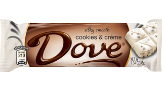 Mars DOVE® Brand Silky Smooth Cookies And Crème Bar