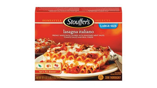 Nestle Prepared Foods Co. Announces Voluntary Recall Of Stouffer's® Satisfying Servings Lasagna Italiano