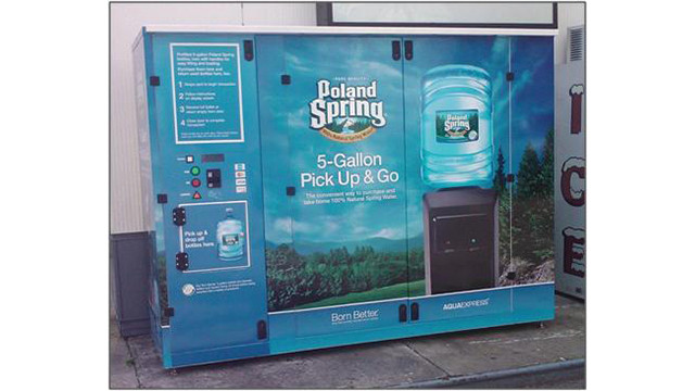 Massachusetts Bottled Water Operators Team With Nestle Waters North America To Launch Automated 5-Gallon Bottled Water Vending Machine