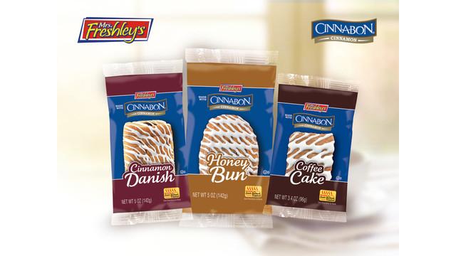 Mrs. Freshley's Cinnabon Pastries