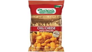Nathan's Famous Chili Cheese Crunchy Crinkle Fries