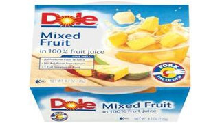 DOLE Fruit Bowls® for Snack Vending Machines