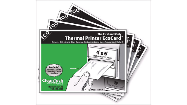 CleanTech Thermal Printer EcoCard