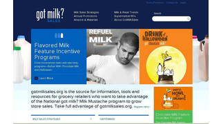 Milk Processor Education Program Introduces Sales Information Website For Retailers