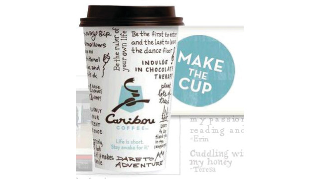 Caribou Coffee Markets Its Middle-Of-The-Road, Medium-Roast Coffee Against Competitors Using Digital Platforms