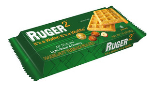 Hazelnut Cream Filled Ruger2 Wafer