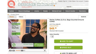 Marley Coffee Appears On QVC