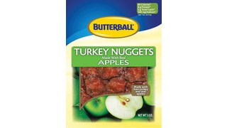 Butterball Turkey Apple Nuggets For Micro Markets