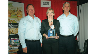 Sugar Foods Corp. Announces 2012 Specialty Broker Award