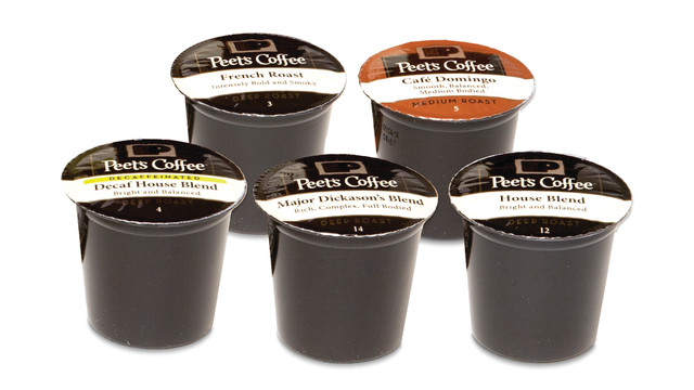 Peet's Launches Coffee Cartridges For Retail Single-Cup Brewers