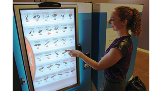 Intel Introduces Touchscreen Vending Machine