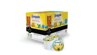 GMCR Introduces Snapple K-Cup Packs