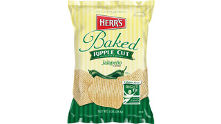 Herr's Launches New Jalapeno Flavored Ripple Baked Crisps