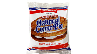 Little Debbie Double Decker Oatmeal Creme Pie