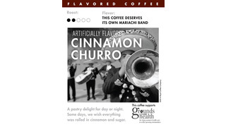 Cinnamon Churro Flavored Coffee