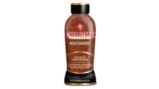 Cold Stone Creamery Chocolate Fudge Brownie Milk Shakers