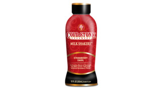 Cold Stone Creamery Milk Shakers Strawberry Swirl