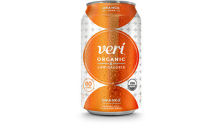 Veri Orange Organic Soda