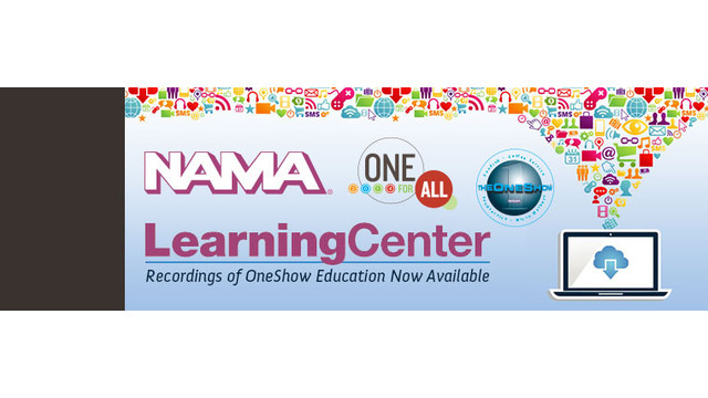 NAMA Offers Recorded OneShow Education Sessions For Purchase