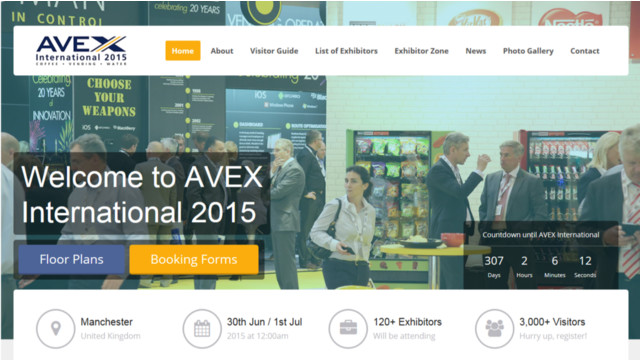 New Website Unveiled For UK's Largest Vending Event