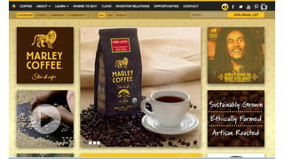 Marley Coffee Launches New Corporate Website
