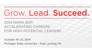 NAMA EDP Program Scheduled For October – Focus On Developing High Potential Leaders