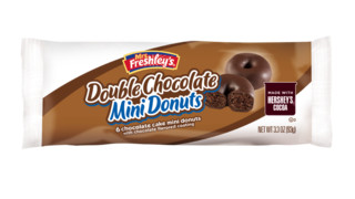 Mrs. Freshley's Hershey's Double Chocolate Mini Donuts