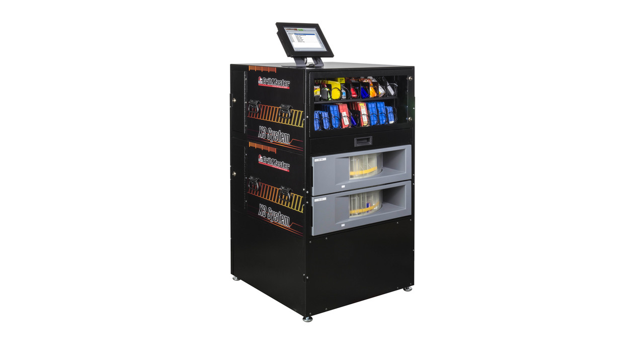 cribmaster releases the x3 system an industrial benchtop vending solution with modular design. Black Bedroom Furniture Sets. Home Design Ideas