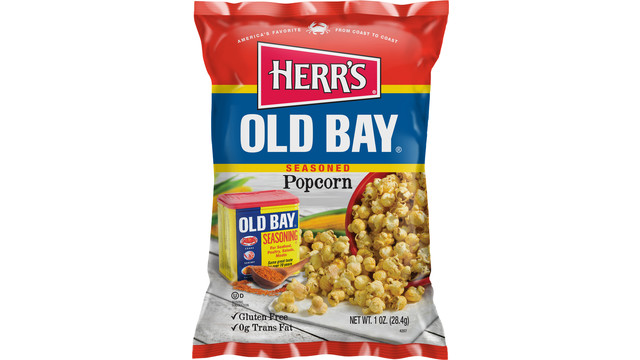 Herr's Popcorn With Genuine Old Bay