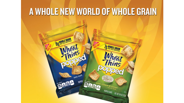 Discover A Whole New World Of Whole Grain With WHEAT THINS Popped